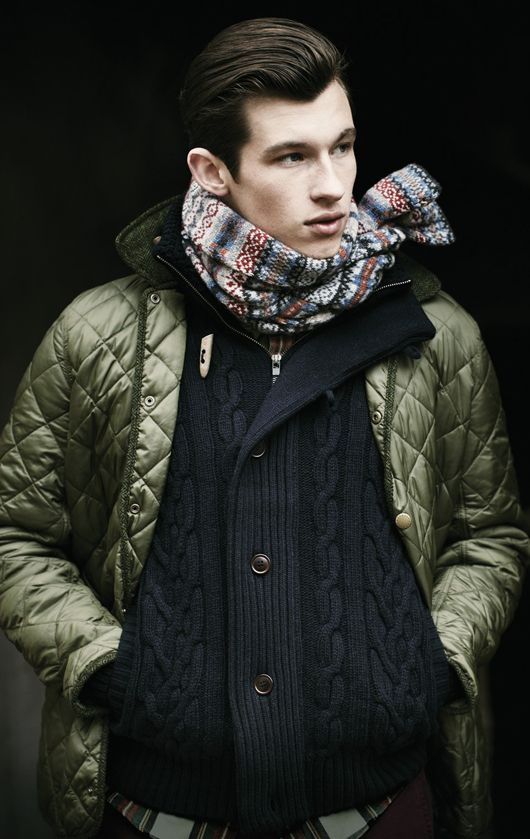 Barbour Autumn 2012-13. I need to live in a place where I can wear this.