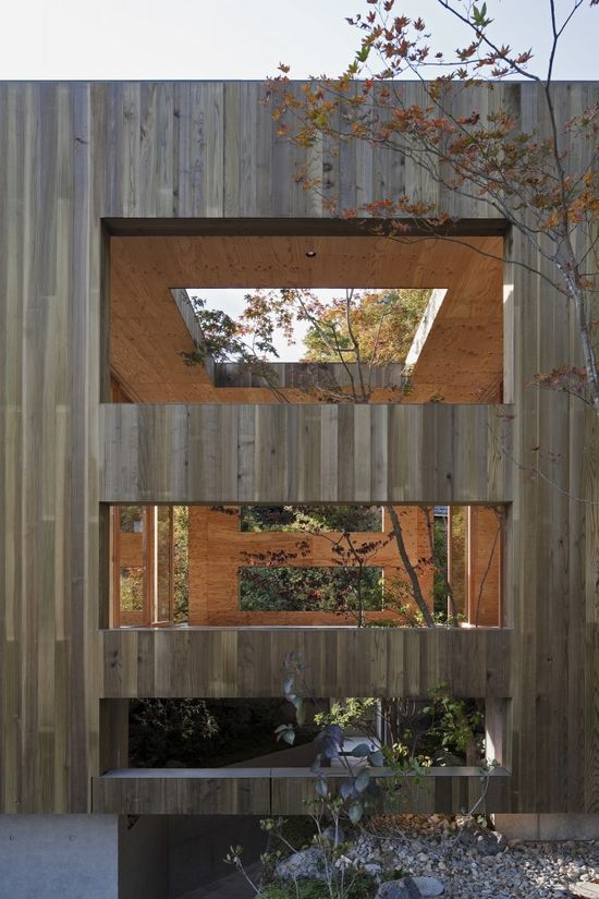 Nest / UID Architects  #arch #architecture #wood #material