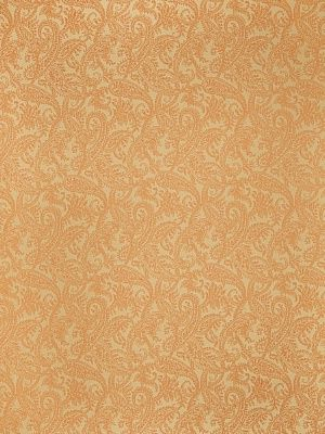 Stroheim Fabric Maharani-Pumpkin $78.50 price per yard #interiors #decor #orangefabric