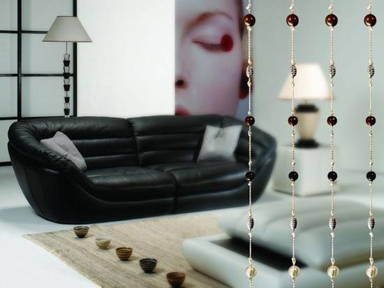 modern interior design and decorating with rain