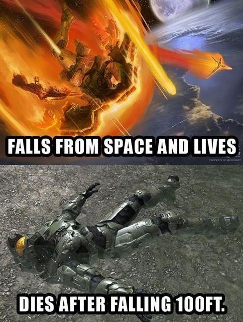 Only in Halo