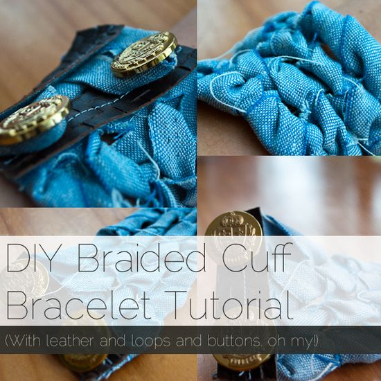 How to Make a Braided Cuff Bracelet #diy #bracelet