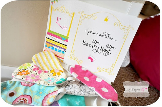 Adorable princess and the pea birthday party! What a cute idea! See more on www.karaspartyide...