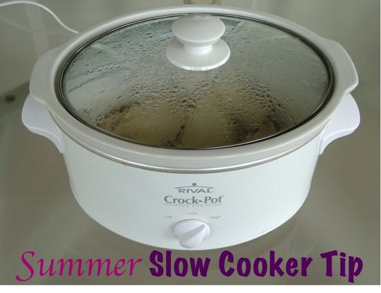 Summer Crockpot Cookin'... Outside!  {+ easy crockpot recipes!} #slow #cooker #tips