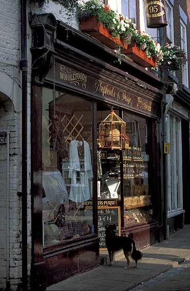 Lo Que es una bella y Pequeña tienda en inglaterra ...
