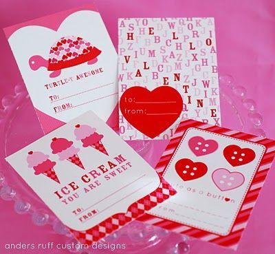 Valentines: Free printable
