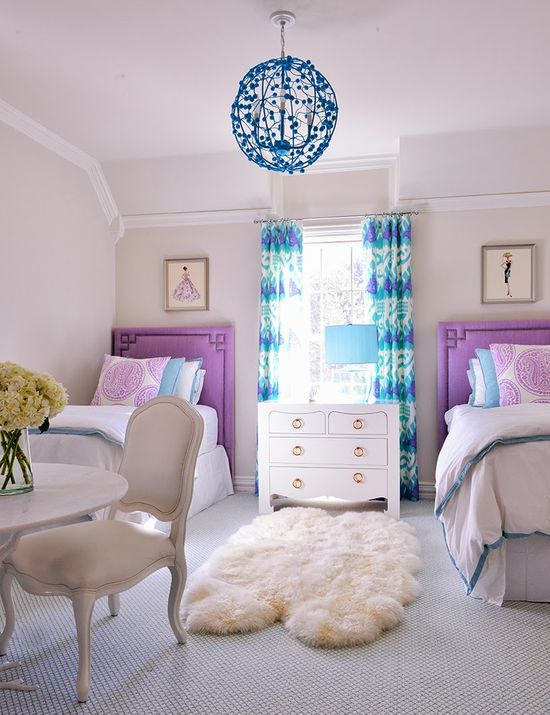 Colourful Rooms to Grow