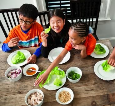 Delicious Do-It-Yourself Lettuce Wraps
