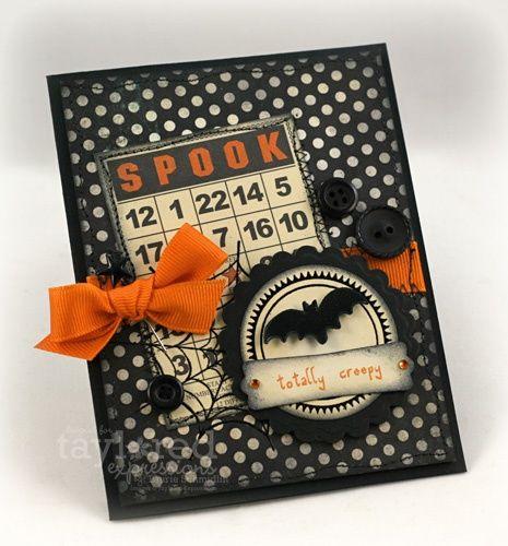 handmade halloween card 2013