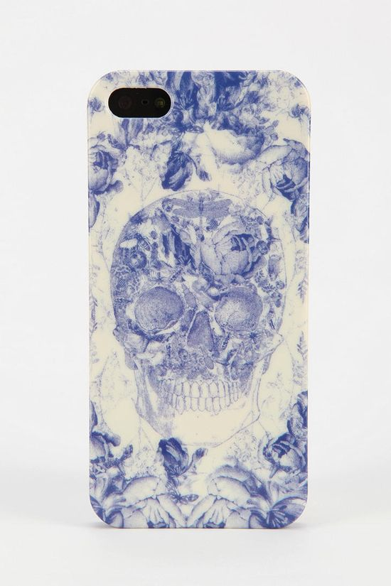 UO Toile Skull iPhone 5 Case #urbanoutfitters