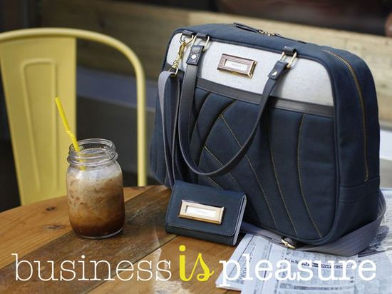 Business is Pleasure by Le Vero — Kickstarter.  An elegantly designed collection of personalized business and travel accessories for a well organized life.