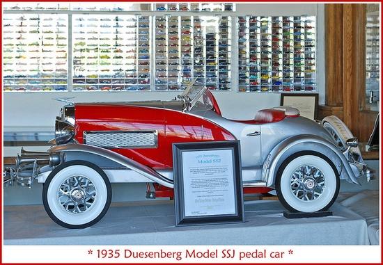 *1935 DUESENBERG ~ pedal car by sjb4photos, via Flickr