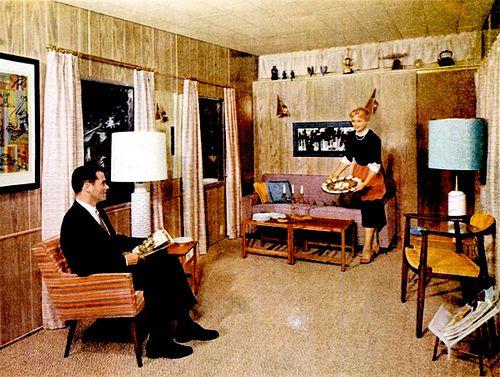 Living Room (1959)  Mobile home