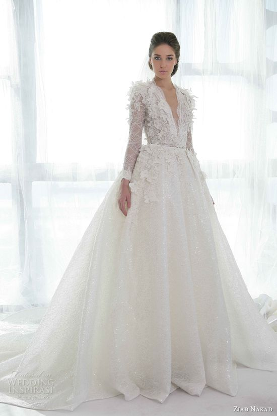 Ziad Nakad 2013 Wedding Dresses
