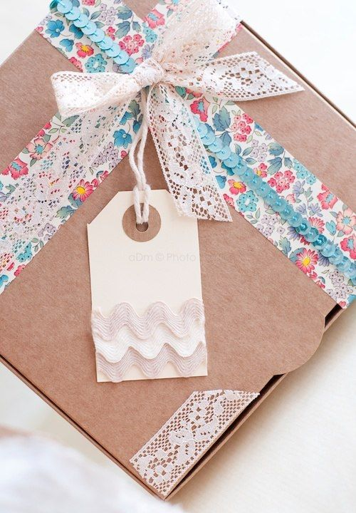 Vintage Gift Wrapping x