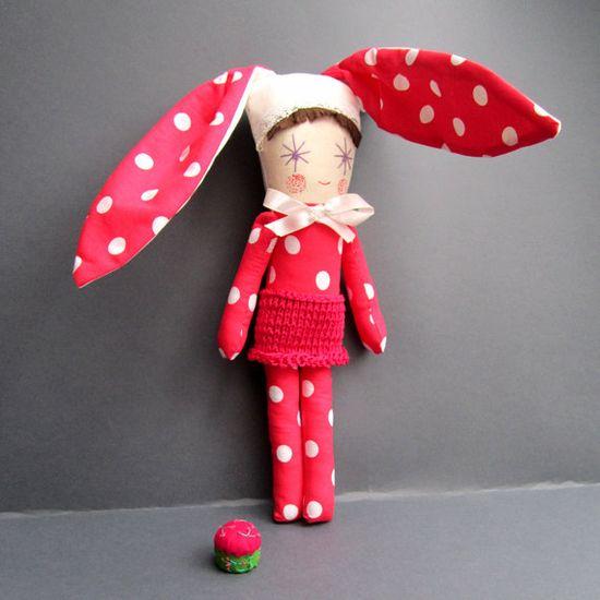 Spring Rabbit Doll