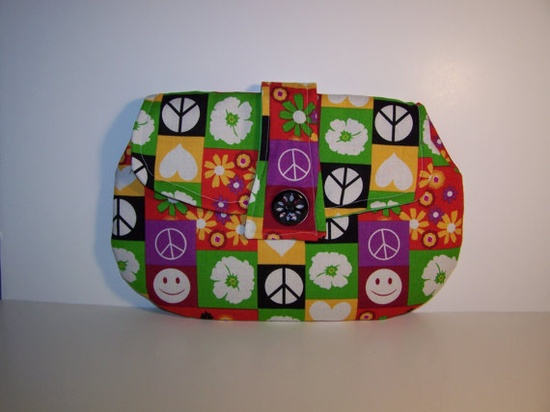 Peace Clutch Purse HOLIDAY SALE by TrampLee on Etsy, $15.99