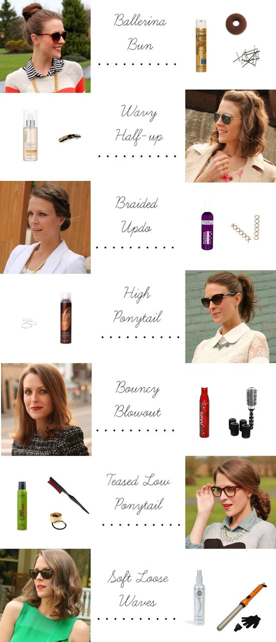 7 Easy Hairstyles for Short to Mid-Length Hair