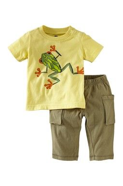 Frog Baby Outfit.