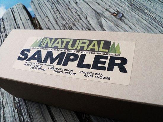 natural soap sampler