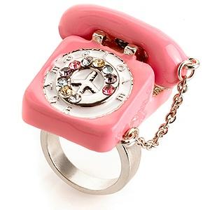 pink phone ring