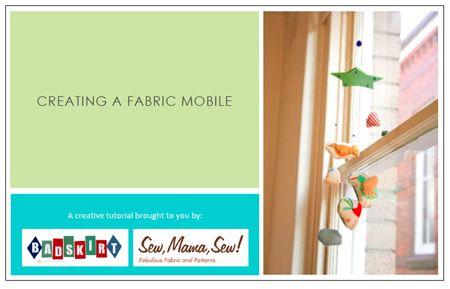 Fabric Mobile Tutorial « Sew,Mama,Sew! Blog