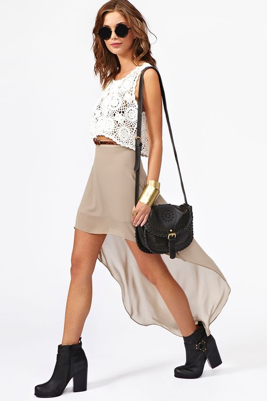 Get Down Skirt from Nasty Gal