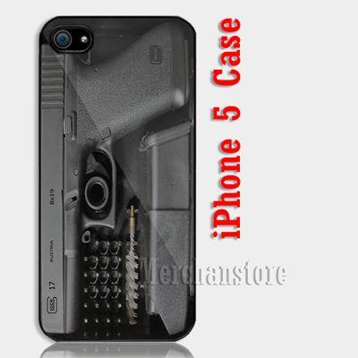 Glock Handgun Custom iPhone 5 Case Cover