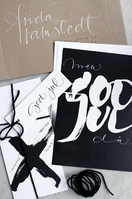 calligraphy / Trendenser.se