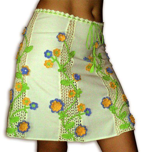 Crochet - skirt