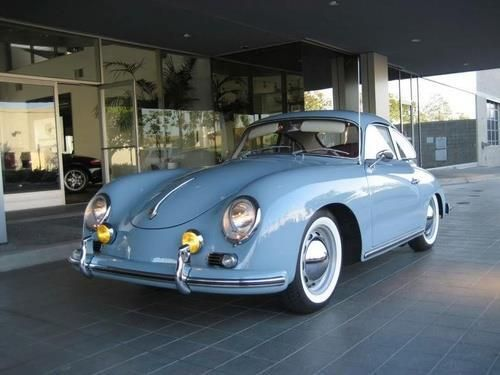 Porsche 356 Coupe 1964 -  The last revision of the 356 was the 356C introduced for the 1964 model year. With disc brakes all round, and an option for the most powerful pushrod engine Porsche had ever produced @71 kW. The 356 was built from 1948–1965.