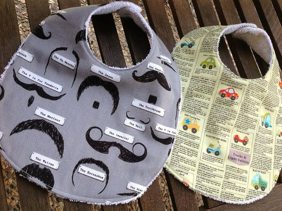 Feeding Bibs - Handmade Gift Ideas for Christmas from Handmade HQ