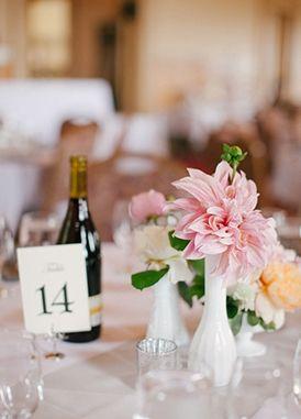 pink and peach, flower arrangement