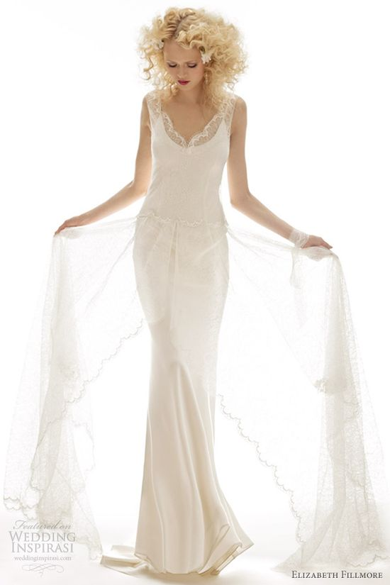 elizabeth fillmore bridal spring 2013 fiona wedding gown