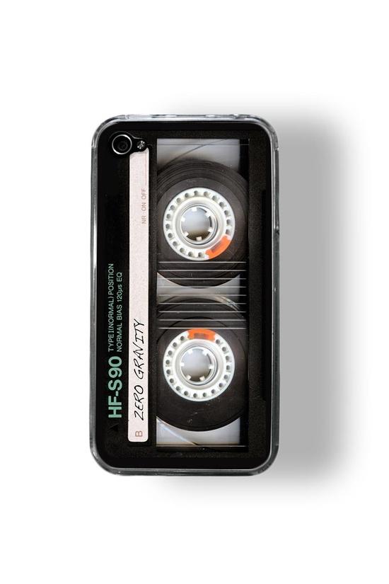 iPhone 4/4S case - Retro Cassette