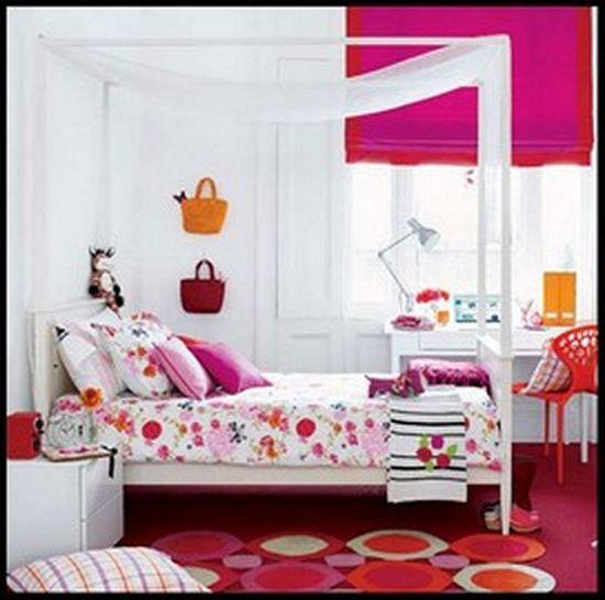 Bedroom Decorating Ideas For Teenage Girls