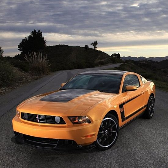 This beautiful car makes this picture even better! - Ford Mustang