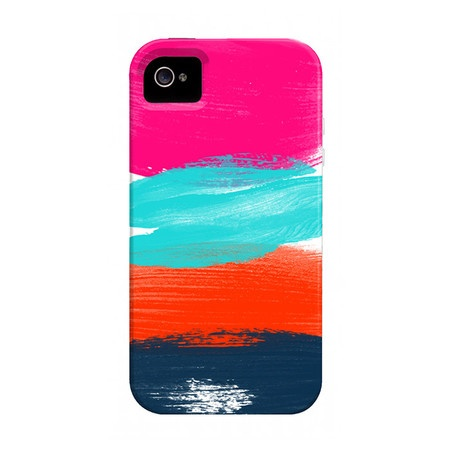 Colorful Brushstrokes iPhone Case.