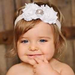 Flower Headbands for Babies