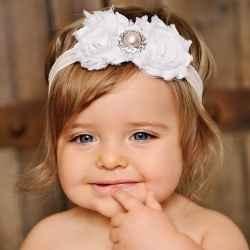 Make Flower Headbands for Babies