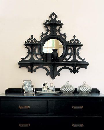 love this mirror/shelf