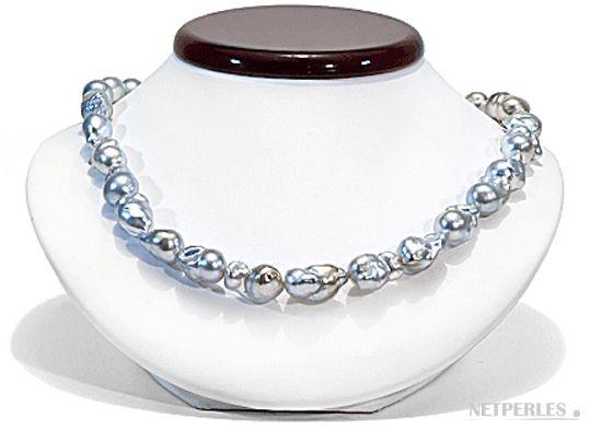 collier de perles de