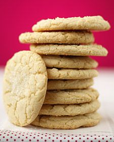 Sugar Cookies #cookies #marthastewart