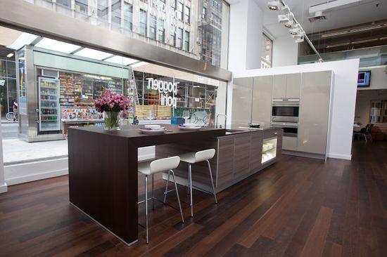 #Poggenpohl #NewYork #Downtown #Modern #Kitchen #Design #Showroom