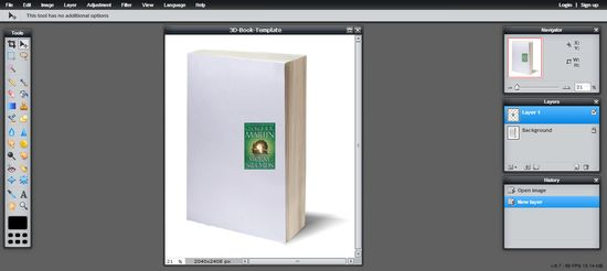 Blog Tut: How to Make a 3D Book Cover...FOR FREE