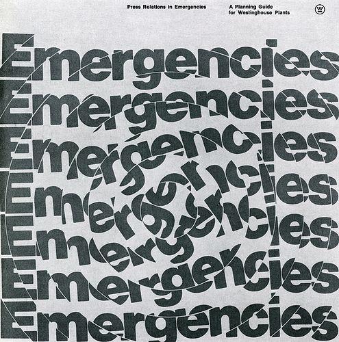 Press Relations in Emergencies — Peter Megert, 1972