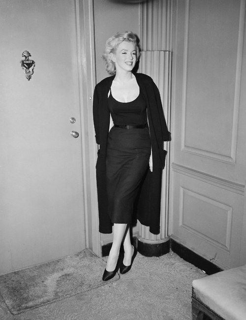 Marilyn gets it right. LBD
