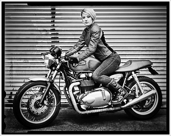 "Biker babe: Alicia ""Motolady""Elfving"