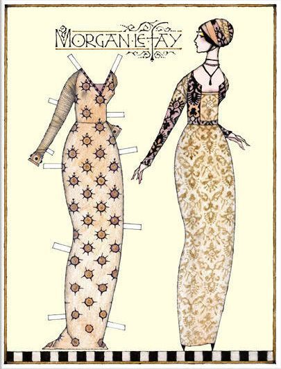 paper dolls from other periods...