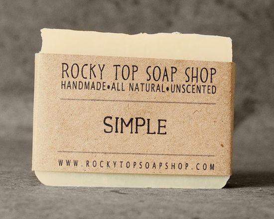 Rocky Top Soap Shop - Simple Soap